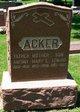 Profile photo:  Anthony Acker, Sr