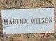 Martha C. <I>Cook</I> Wilson