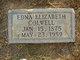 "Profile photo:  Edna Elizabeth ""Betty"" <I>Samples</I> Colwell"