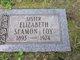Profile photo:  Elizabeth <I>Seamon</I> Foy