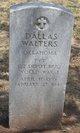 Profile photo: Pvt Dallas Dow Walters