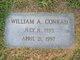 Profile photo:  William A. Conrad