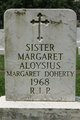 "Profile photo: Sr Margaret ""Sr Margaret Aloysius"" Doherty"