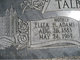 Eliza Hulda <I>Adams</I> Talbot
