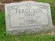 Profile photo:  Sarah <I>Malone</I> Ferguson