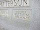 Mettie Melvina <I>Denton</I> Patterson