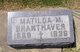 Matilda Mary <I>Hildebrandt</I> Branthaver