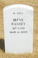 Irene M <I>Griffin</I> Ramsey
