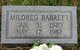 "Mildred ""Mimi"" <I>Bryant</I> Barrett"