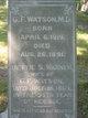 Bettie S. <I>Warner</I> Watson