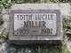 Edith Lucille Miller