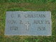 Profile photo:  C. R. Chastain