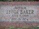 Lydia Marie <I>Carter</I> Baker