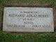 "Profile photo:  Richard Adlai ""Dick"" Berry"