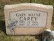 Profile photo:  Gary Wayne Carey