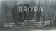 Ethel Myrl <I>Peterson</I> Brown