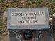 Profile photo:  Dorothy Mae <I>Hoven</I> Bradley