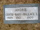 Profile photo:  Baby Andrie