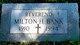 Rev Milton Harold Bank