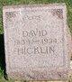 David Hicklin