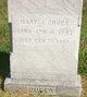 Mary Ann <I>Hicklin</I> Covey
