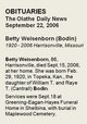 Betty Jane <I>Bodin</I> Weisenborn
