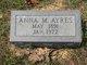 Anna Mae <I>Durrand</I> Ayres