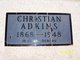 Christian <I>Rogers</I> Adkins