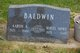 Mavis Edwina <I>Howe</I> Baldwin