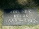 Profile photo:  Adeline Collins Peers