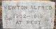 "Profile photo:  Aaron ""Newton"" Alfred"