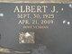 Profile photo:  Albert J Aab