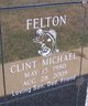 Profile photo:  Clint Michael Felton