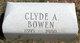 Clyde Arthur Bowen