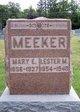 Mary Elizabeth <I>Elder</I> Meeker