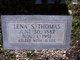 """Lena D """"Annie"""" <I>Skipper</I> Thomas"""