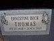 Ernestine <I>Beck</I> Thomas