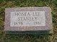 """Hosea Lee """"Lee"""" Stanley"""