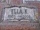 Profile photo:  Ella K. <I>Kramer</I> Harms