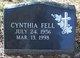 Profile photo:  Cynthia Sue Fell
