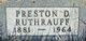 Preston Derry Ruthrauff Sr.