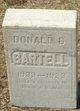 Donald D. Bartell