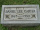 Profile photo:  Daniel Lee Carter