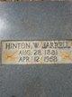 Hinton Wooten Jarrell