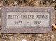 Profile photo:  Betty Lorene Adams