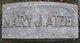 """Mary J. """"Mayme"""" <I>Smith</I> Atzel"""