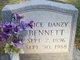 Alice Danzy <I>Hillman</I> Bennett
