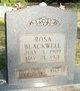 Rosa Blackwell
