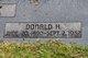 Donald H. Kirk