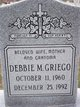 Debbie M Griego